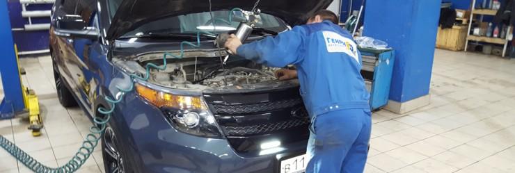 Ремонт Ford Explorer 5